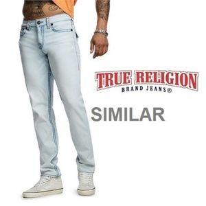 NEW TRUE RELIGION JEANS MEN'S 30